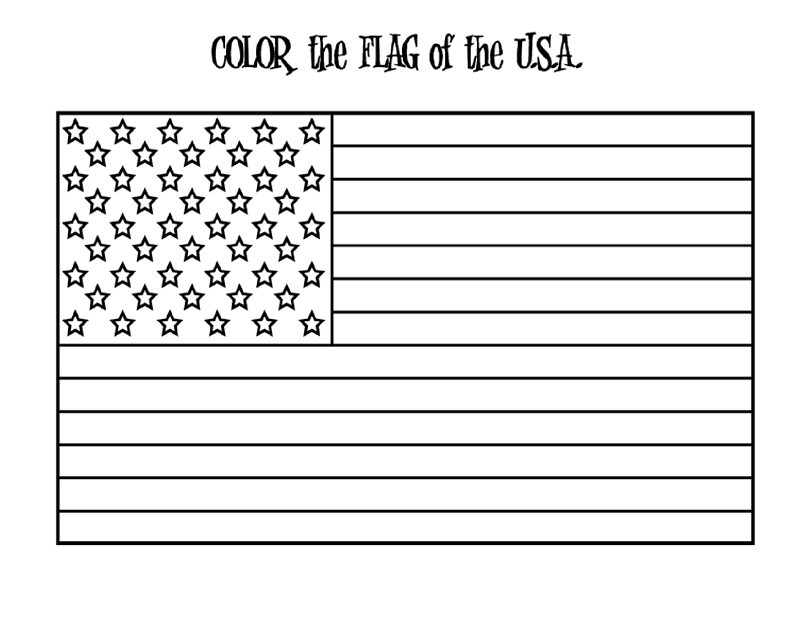 4th of July Coloring 2018- Z31 Coloring Page