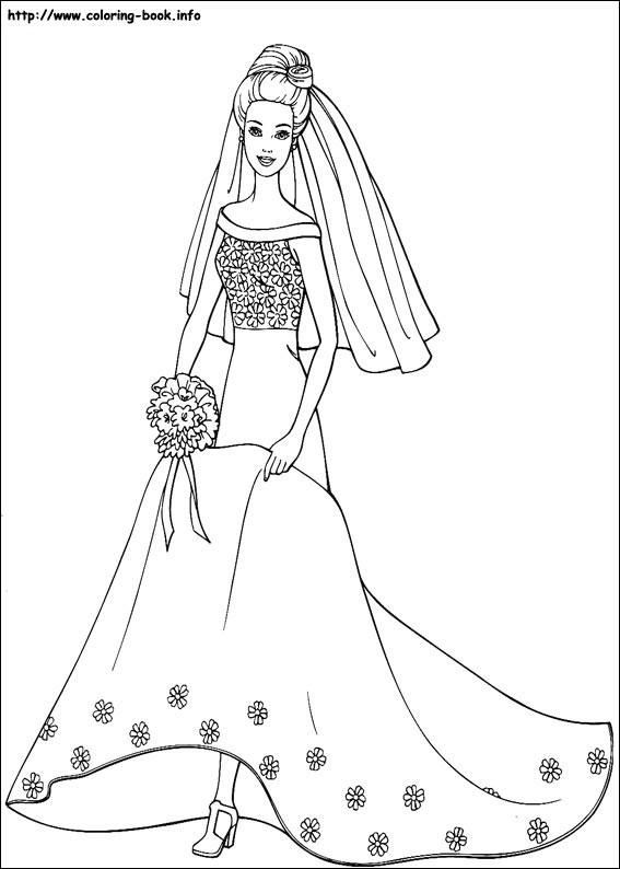 Barbie Coloring Pages 2018 Z31