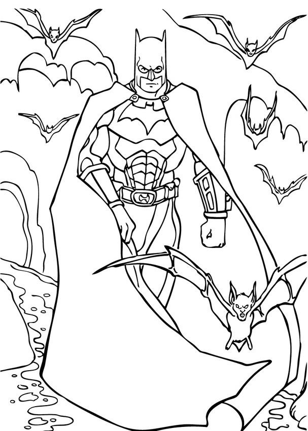 Batman Coloring Pages Z31