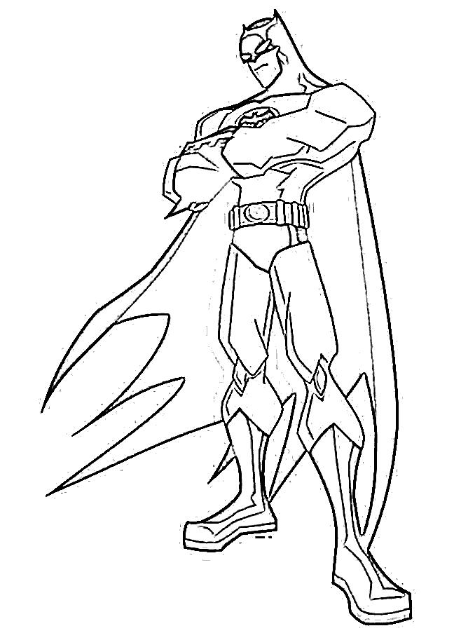 Batman Coloring Pages - Z31