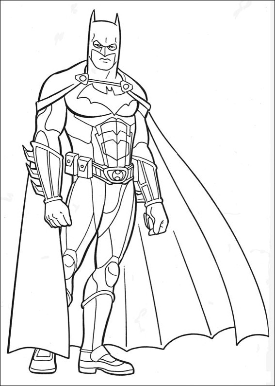 Batman Coloring Pages Print