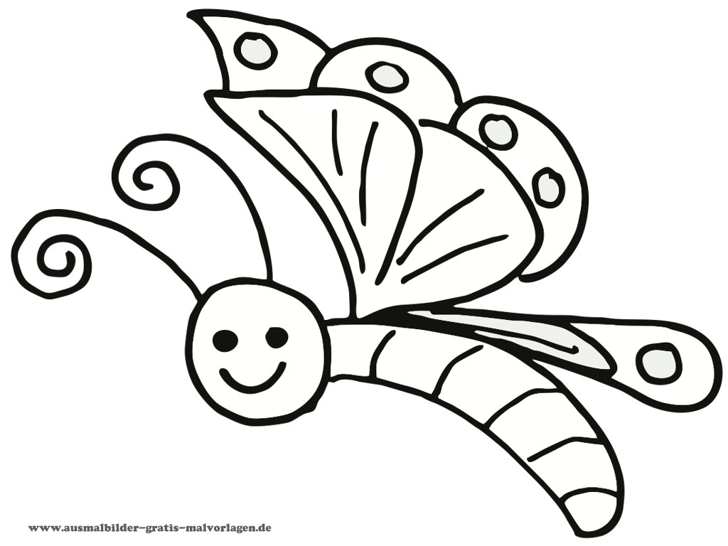 butterfly coloring page z31 coloring page