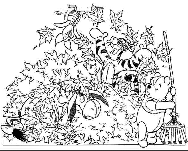 Fall Coloring Page 2018- Z31 Coloring Page