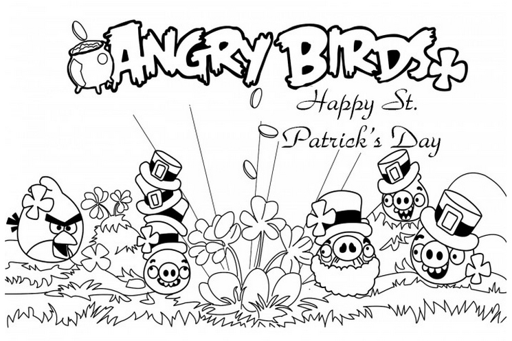 Angry Birds Coloring Pages 2018 - Z31 Coloring Page