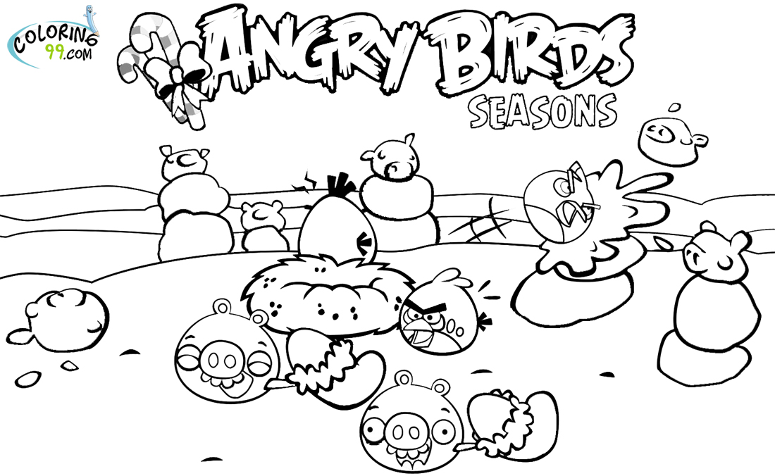 Angry Birds Halloween PrintablesBirdsPrintable Coloring Pages