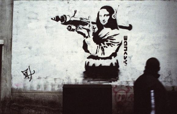 Banksy Art 2019 Z31 Coloring Page
