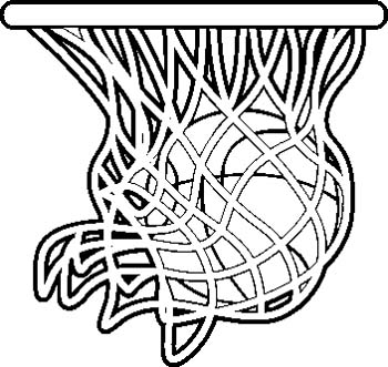 Basketball Clipart Z31 Coloring
