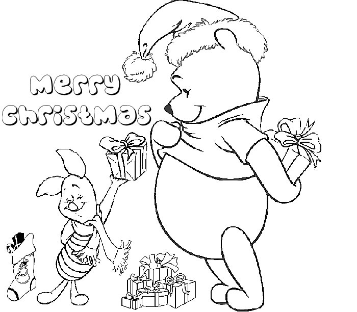 Christmas Coloring Pages To Paint Coloring Pages