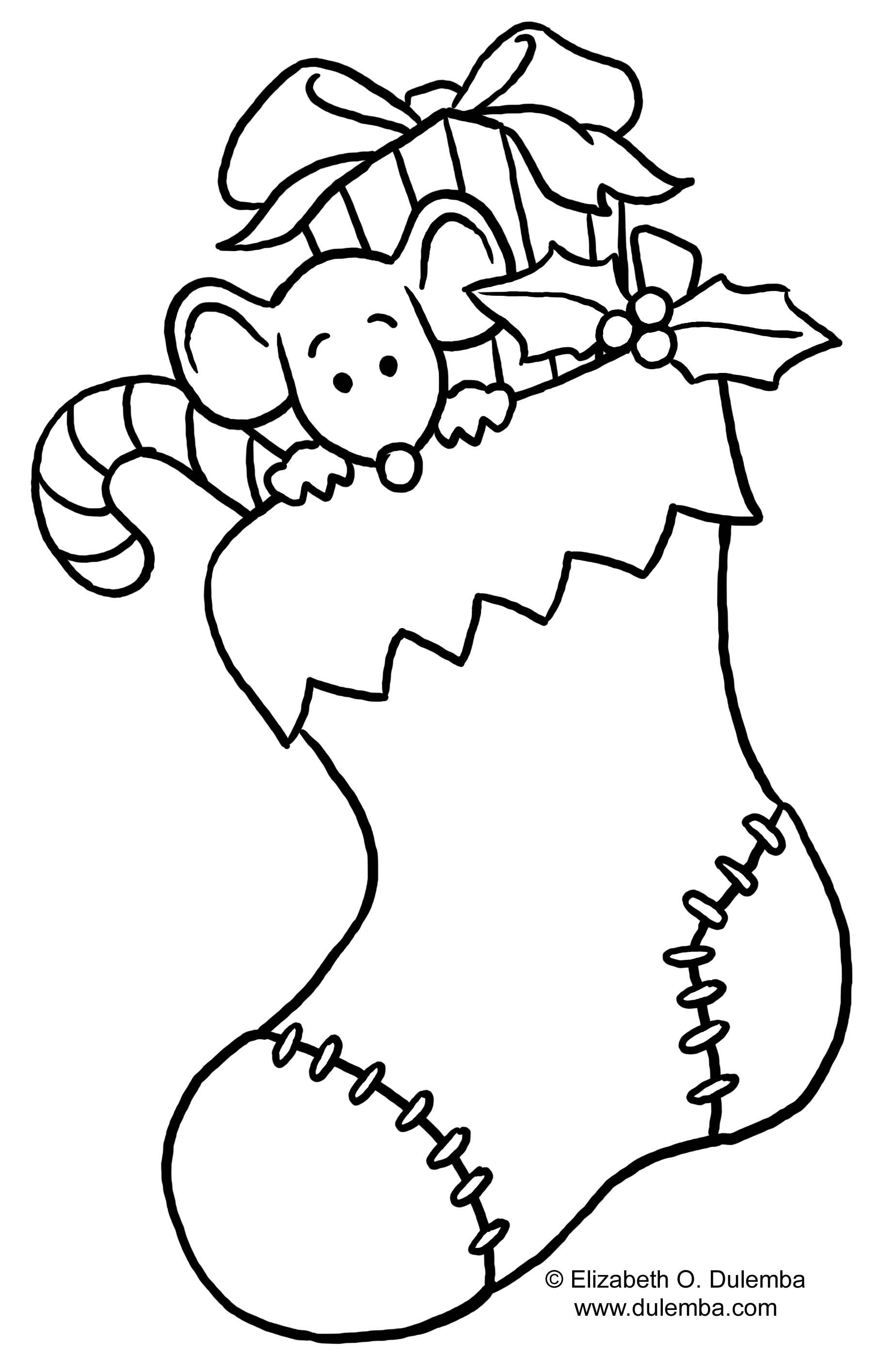 Christmas colouring pages to print out - Christmas Colouring Pages To Print Out 11