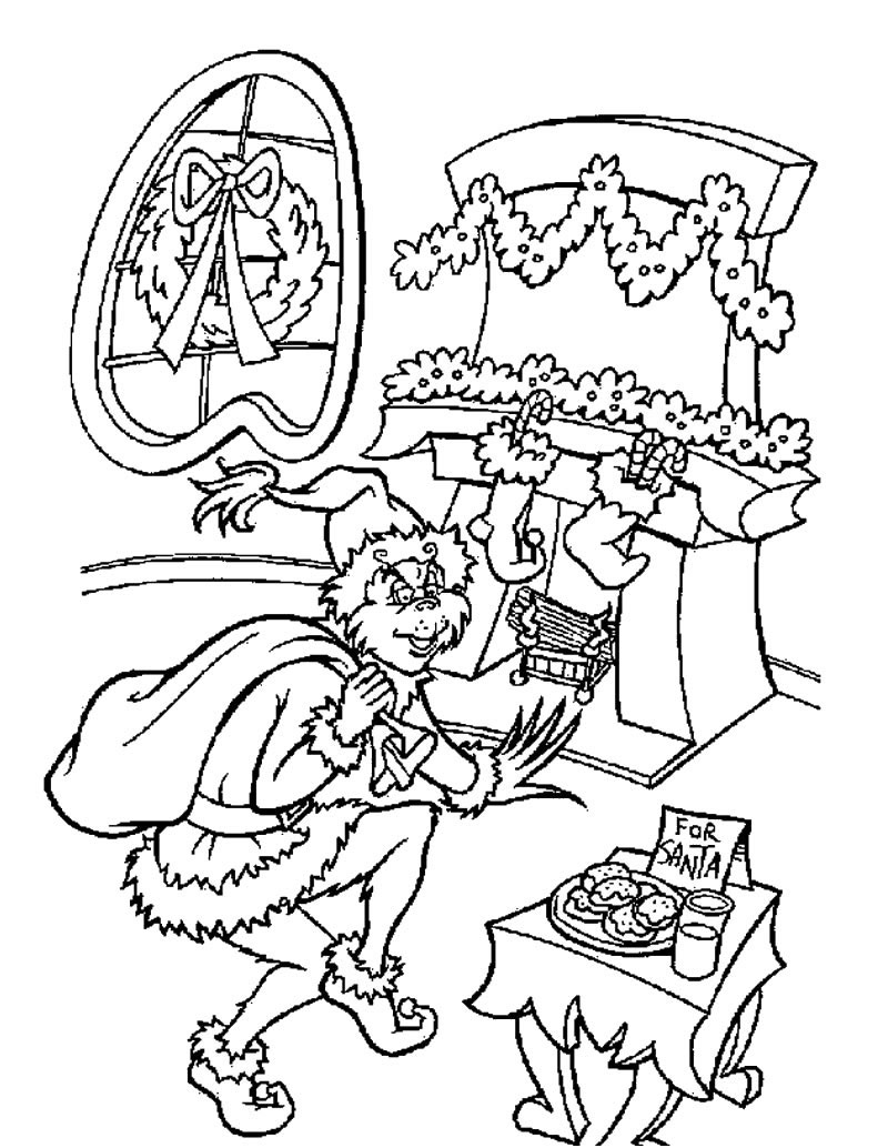 Christmas Coloring Pages For Kids 2018 Z31 Page
