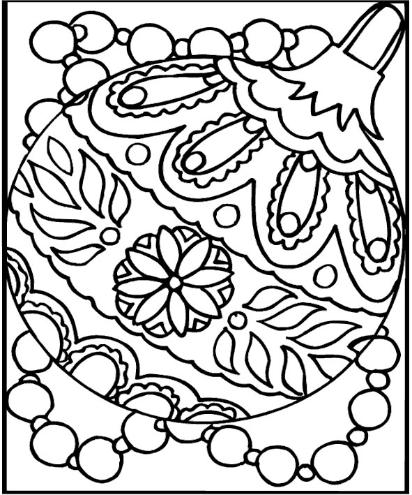 Christmas Coloring Pages for Kids 2018- Z31 Coloring Page