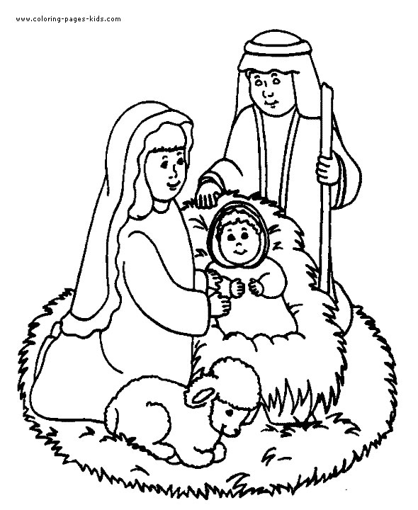 Christmas Coloring Pages for Kids 2017- Z31 Coloring Page
