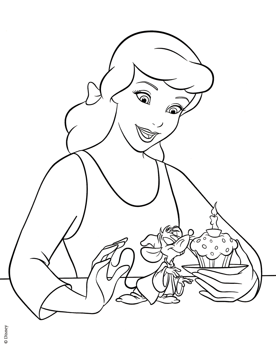 cinderella cloring pages 2017 z31 coloring page