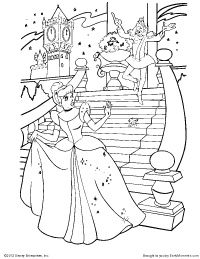 cinderella cloring pages 2017 z31 coloring page - Cinderella Coloring Pages Print