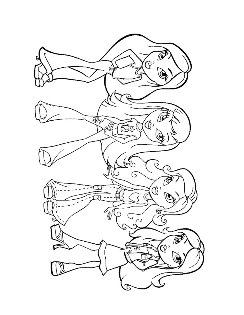 Coloring Pages for Girls - Z31 Coloring Page