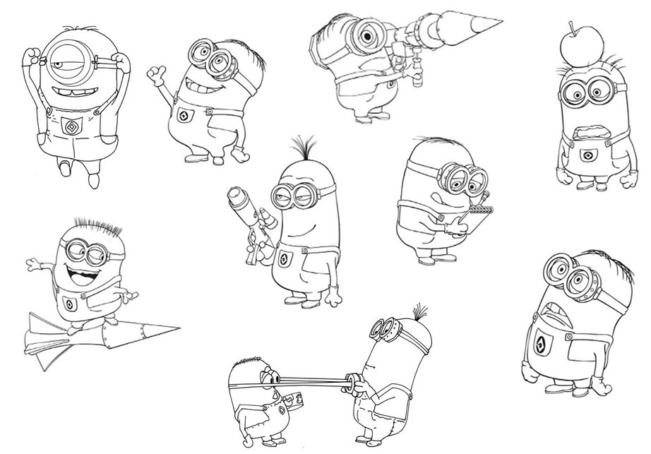 Despicable Me Coloring Pages 2017 Z31 Coloring Page