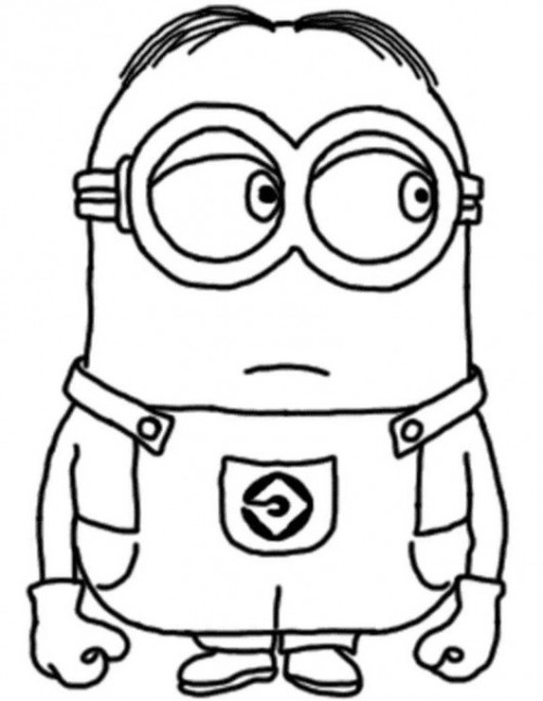 Despicable me coloring pages 2018 z31 coloring page for Despicable me coloring pages printable