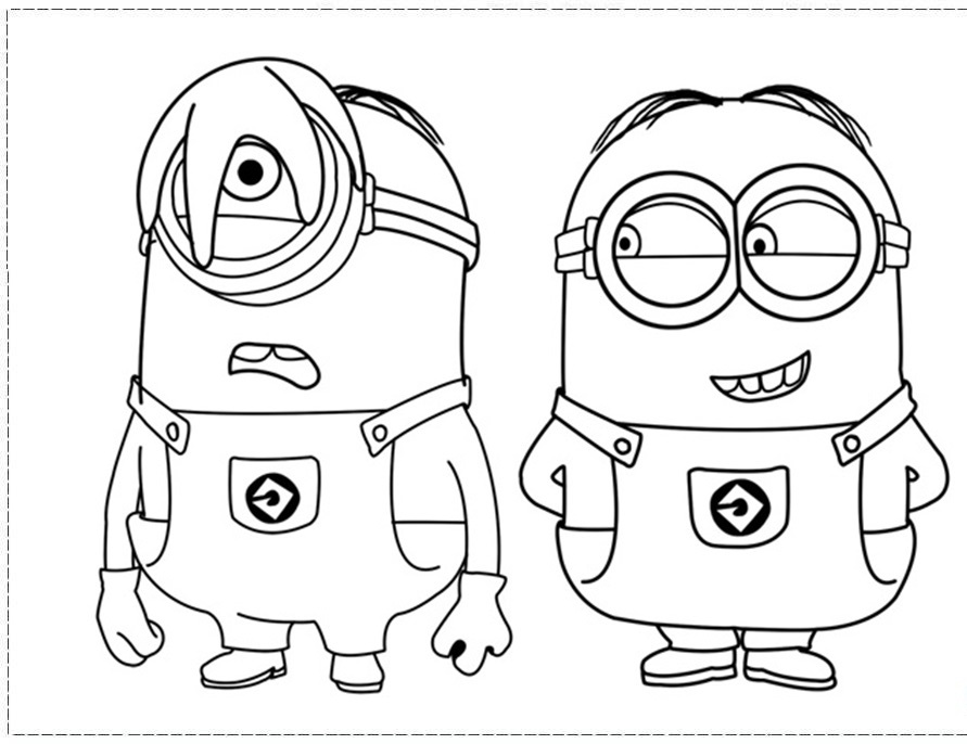 Despicable Me Coloring Pages 2018 Z31 Coloring Page