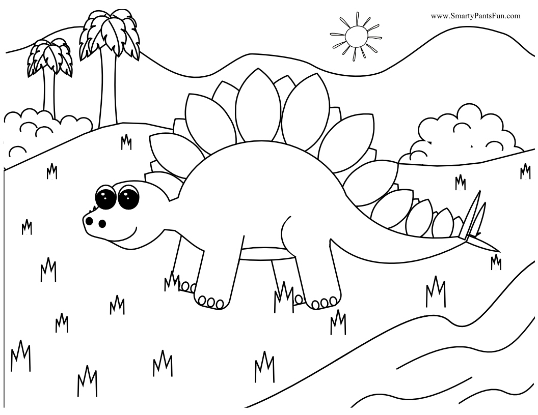 Dinosaur Coloring Pages 2018- Z31 Coloring Page