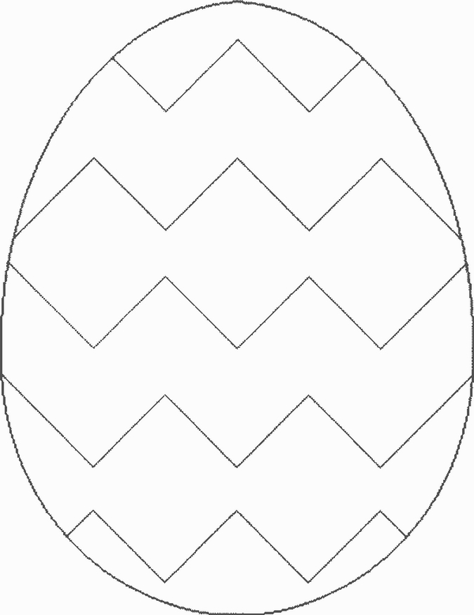 Easter Egg Coloring Pages 2018- Z31 Coloring Page