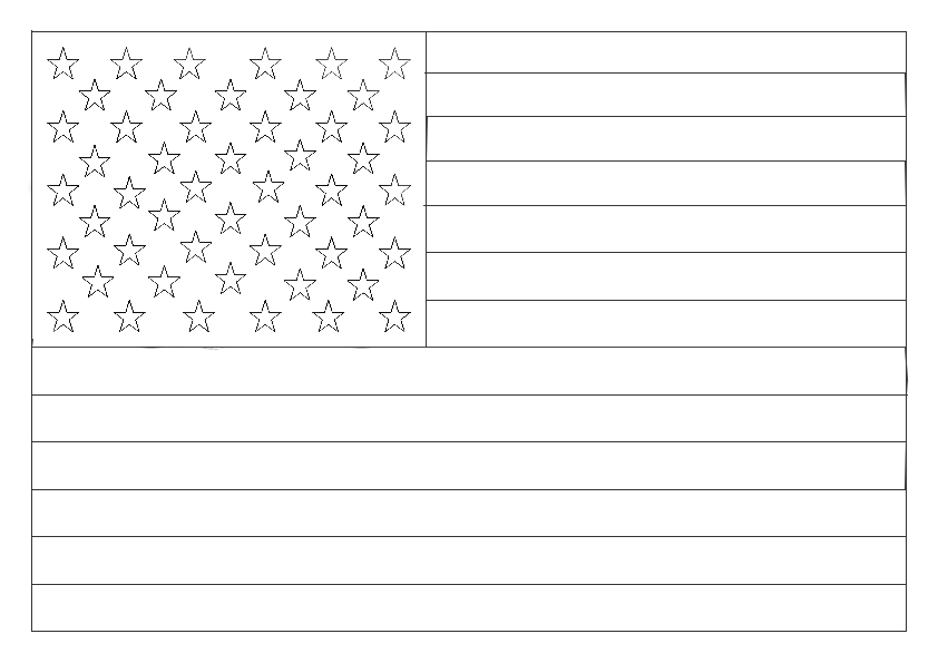 Flag Day Coloring 2018 Z31 Coloring Page