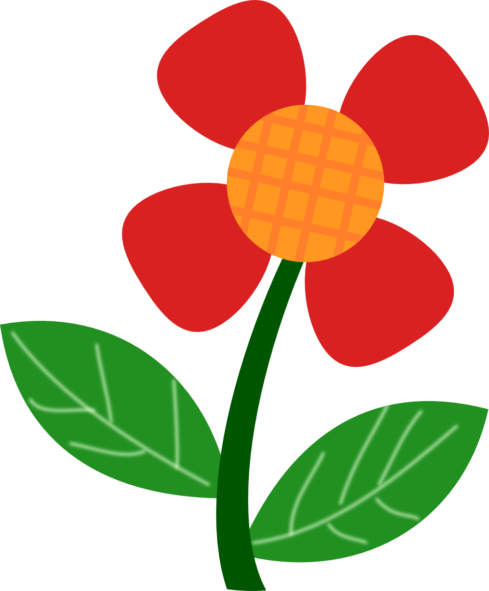 Flower Clip Art 2018- Z31 Coloring Page