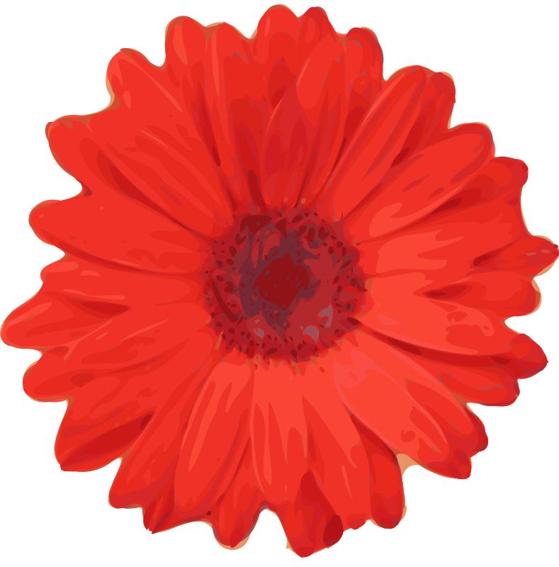 Flower Clip Art 2018 Z31 Coloring Page