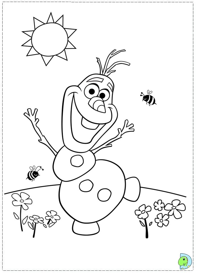 Frozen Coloring Pages Z31