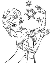 Frozen Coloring Pages Fall Page Mickey Mouse Minnie Pokemon Cinderella Cloring