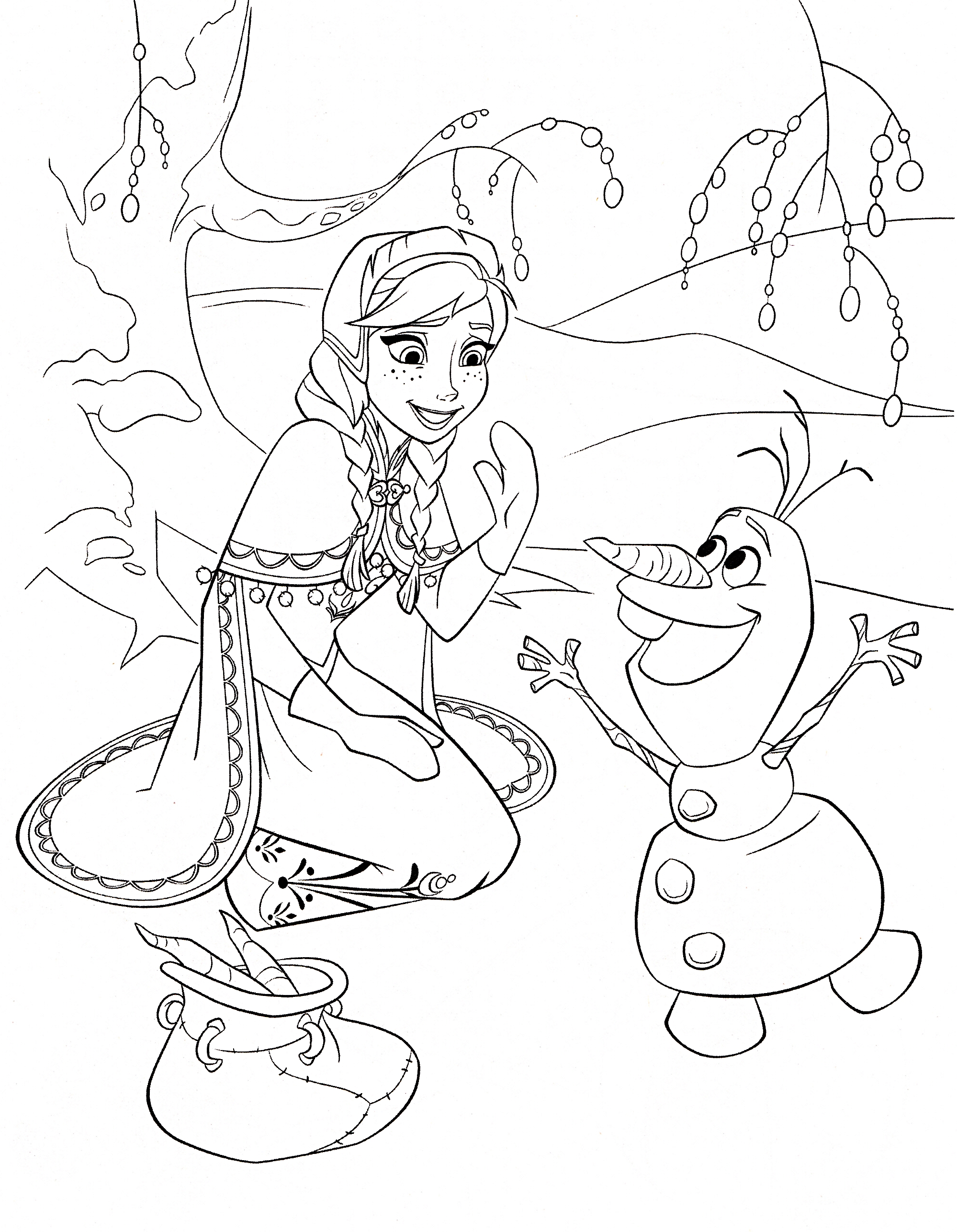 Frozen Coloring Pages 2018 Z31 Page