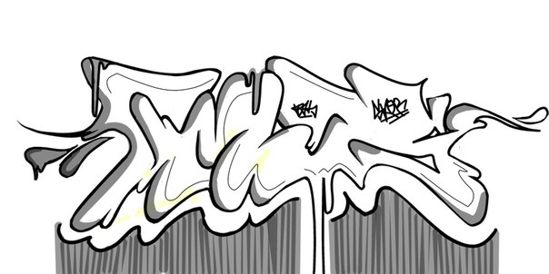 Graffiti Drawings 2018 Z31 Coloring Page