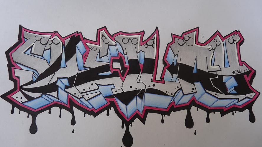 Graffiti Drawings Z31