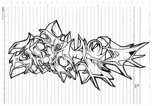 Graffiti Drawings Z31