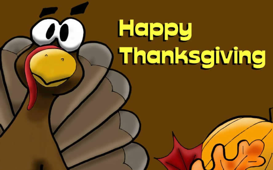 Happy Thanksgiving Pictures - Z31 Coloring Page