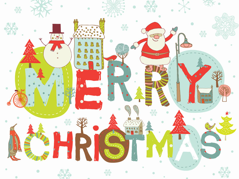 Merry Christmas Images  Z31 Coloring Page