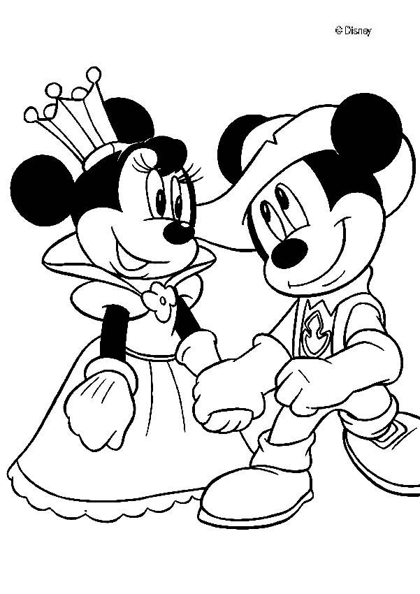 Mickey Mouse Coloring Pages 2018