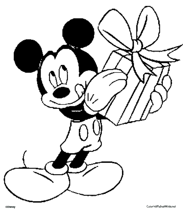 mickey mouse coloring pages print - photo#28