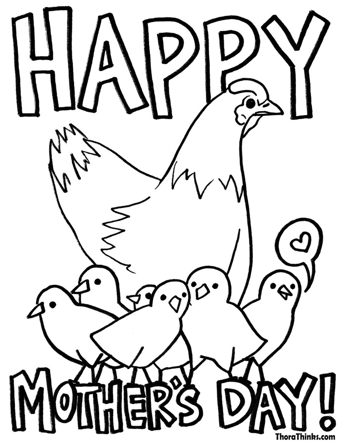 Mothers Day Coloring Pages - Z31 Coloring Page