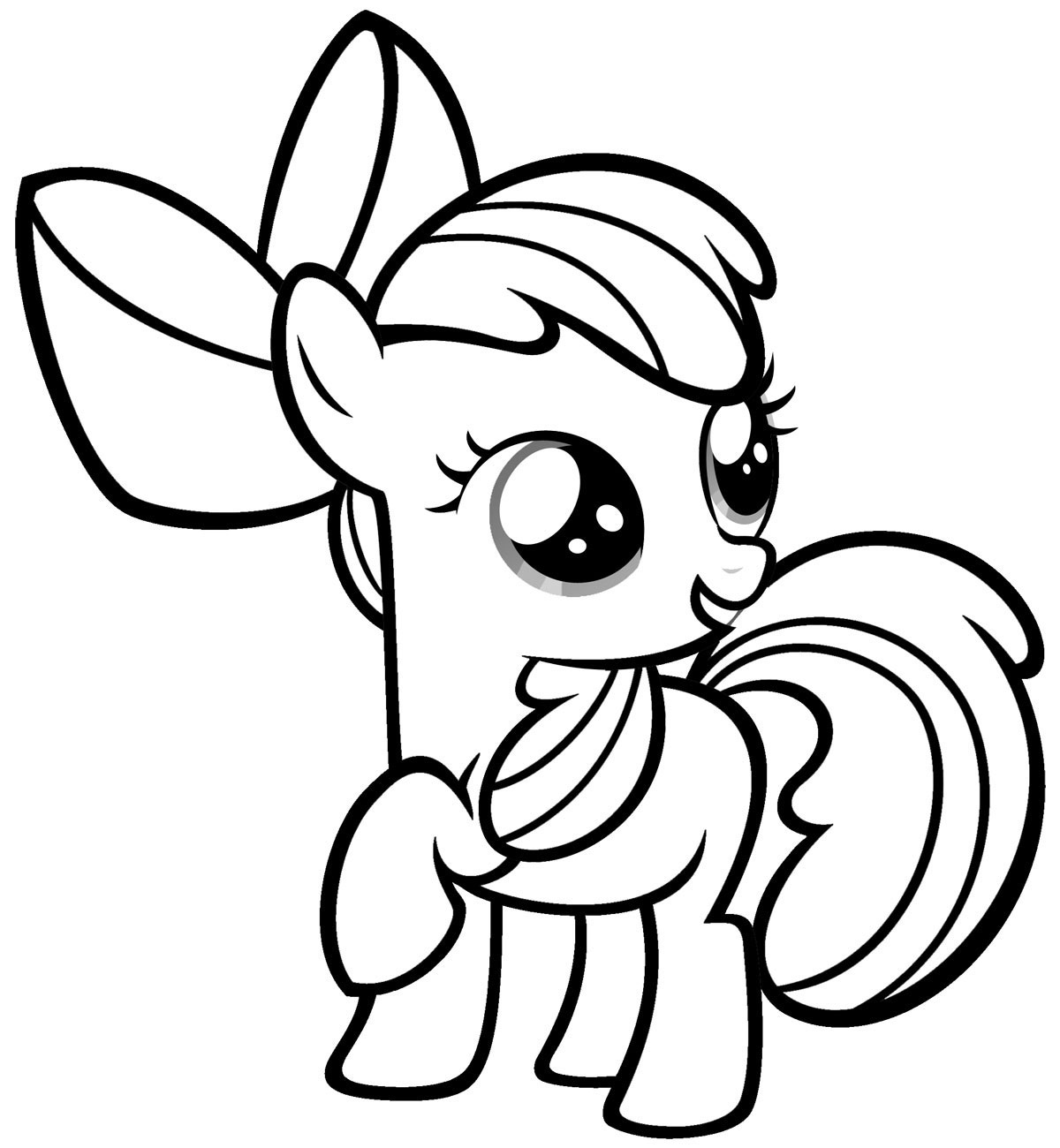My Little Pony Coloring Pages 2018
