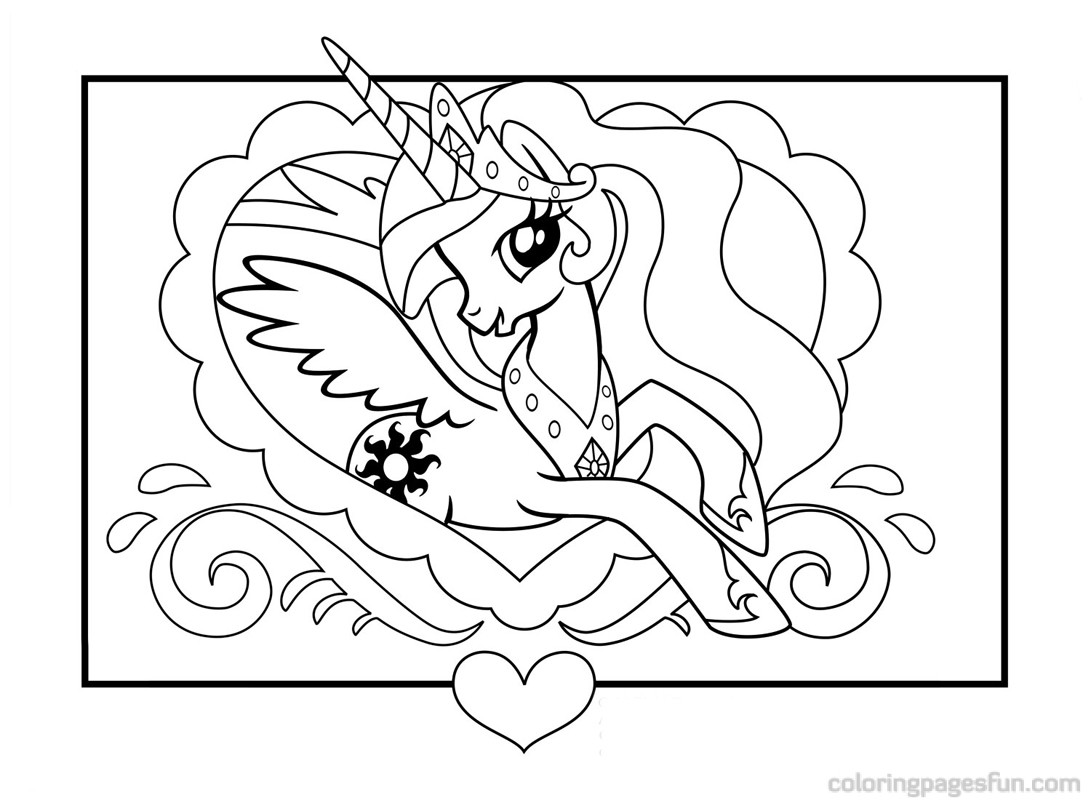 My Little Pony Coloring Pages 2018- Z31 Coloring Page