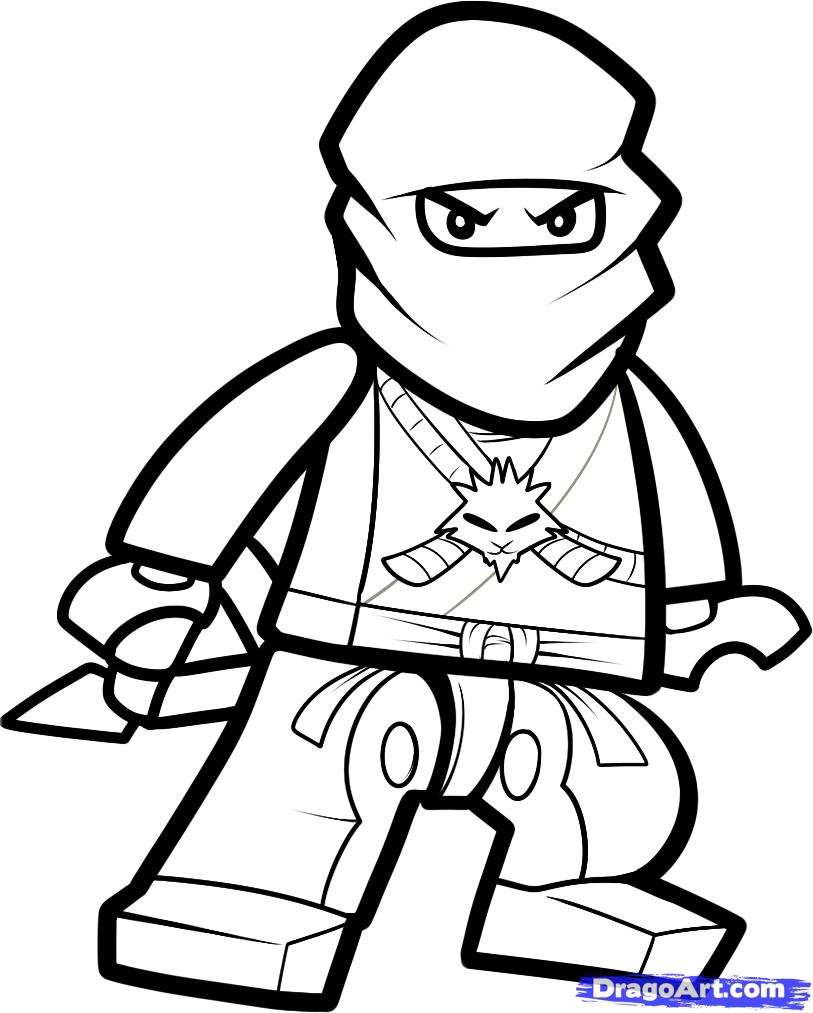 Ninjago Coloring Pages 2018 Z31 Coloring Page