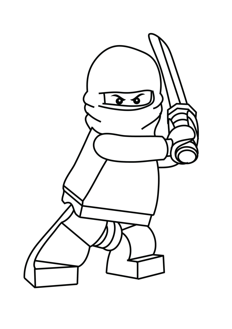 Ninjago Coloring Pages 2018 Z31