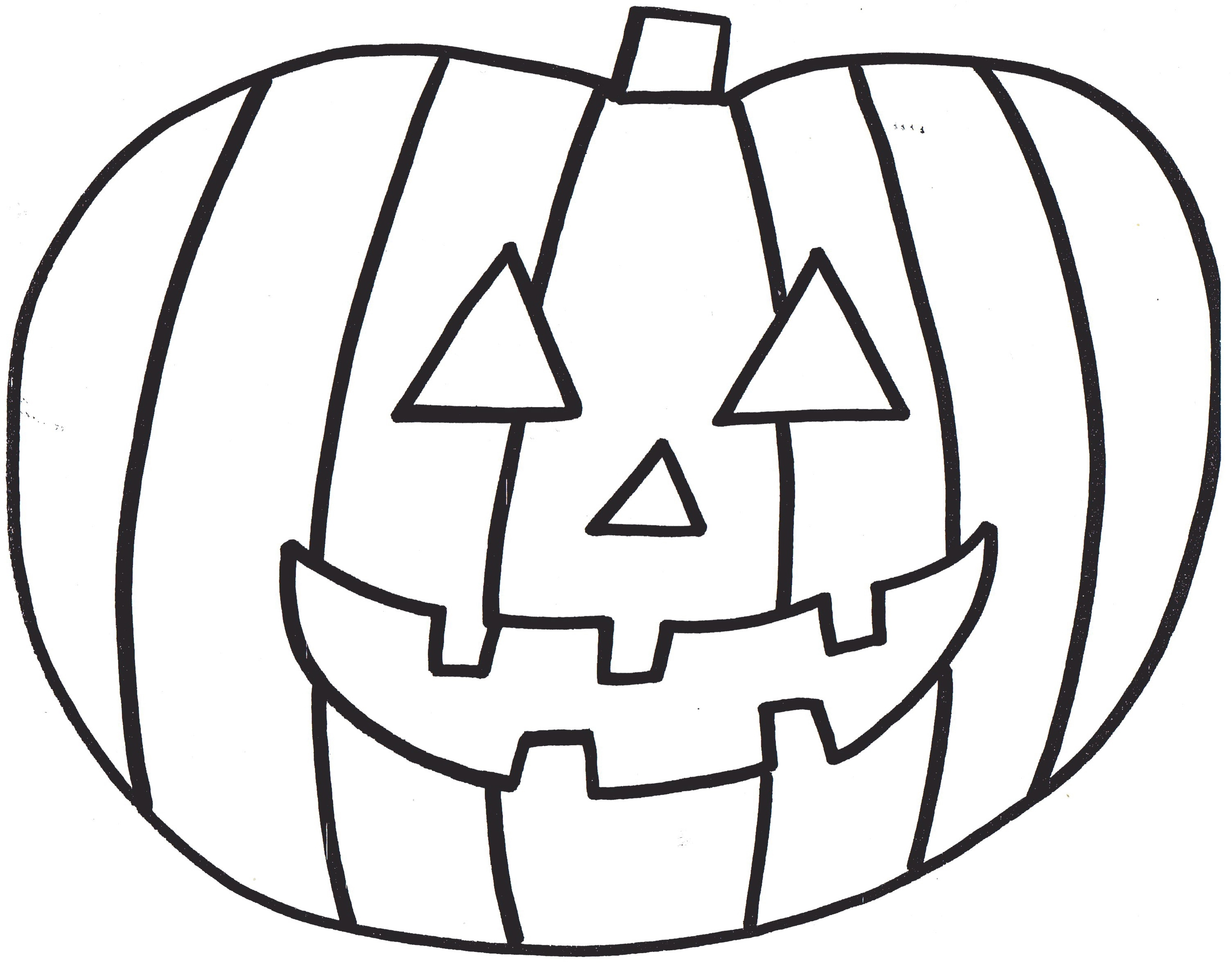 Pumpkin Cloring Pages 2020- Z31 Coloring Page