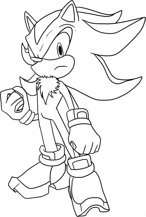 Sonic Coloring Pages 2018 Z31
