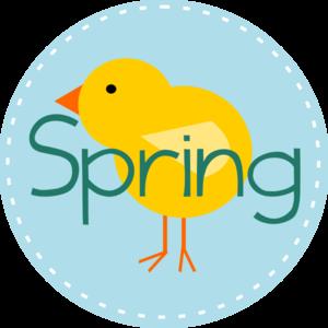 Spring Clip Art - Z31 Coloring Page
