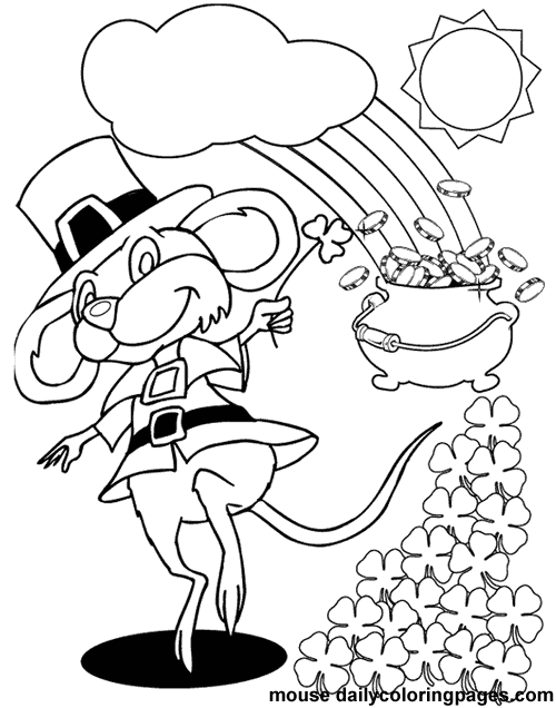 St. Patricks Day Coloring Pages - Z31 Coloring Page