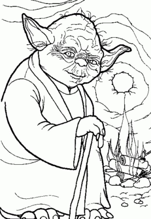 Star Wars Coloring Pages Z31