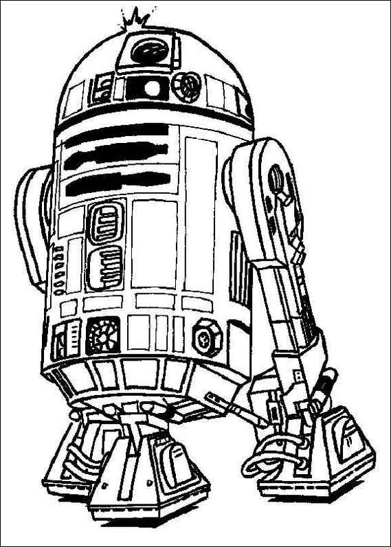 crayola coloring pages star wars | Star Wars Coloring Pages 2018- Z31 Coloring Page
