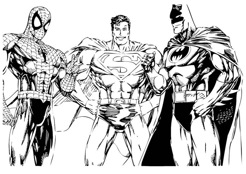 Superman Coloring Pages 2018 Z31