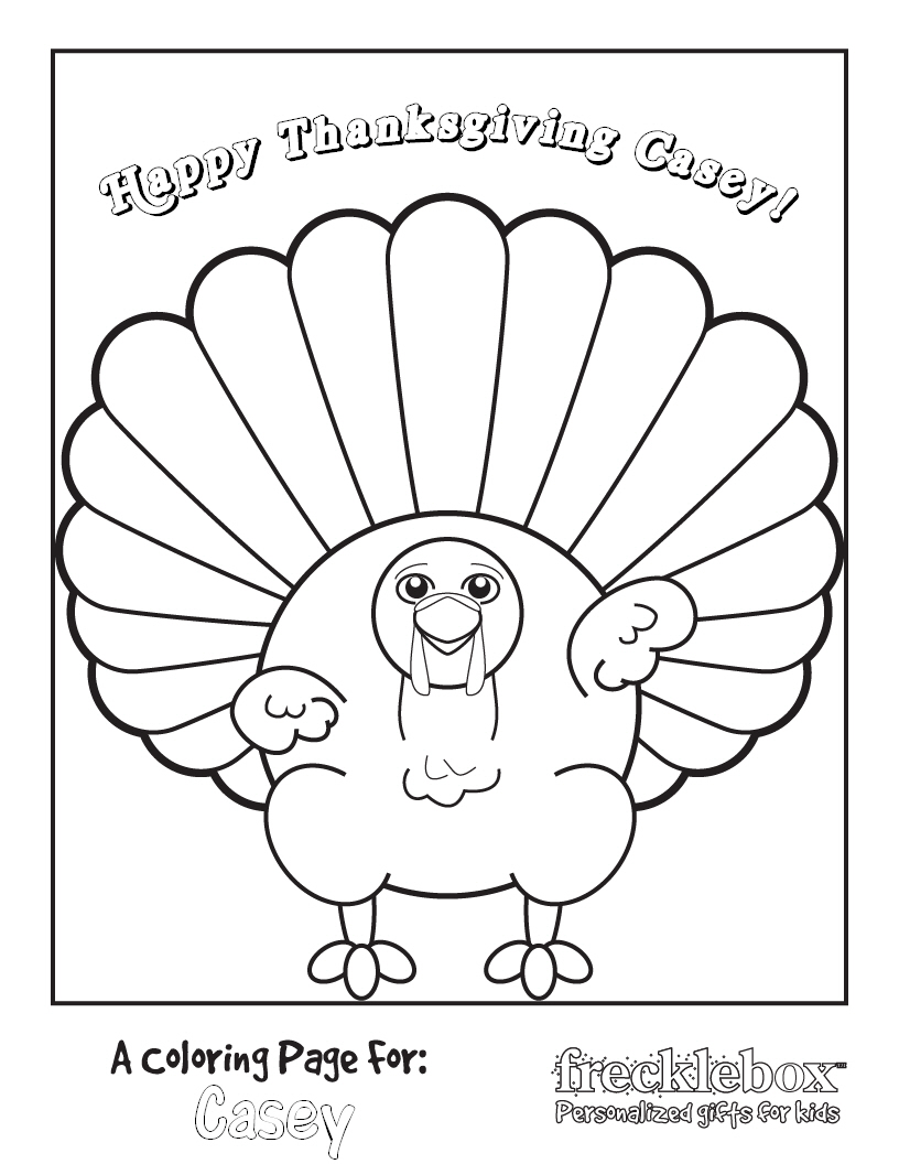 thanksgiving color pages for kids z31 coloring page